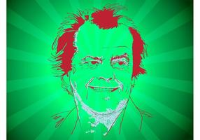 Jack Nicholson Vektor