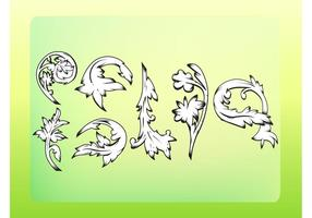 Classic Ornament Vectors