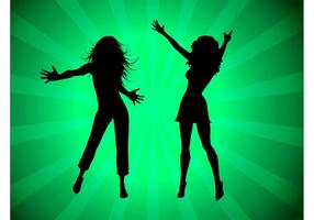 Party Girls Silhouettes