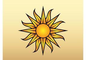 Sonne Vektor-Grafik