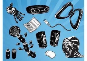 Cool Gadgets Vecteurs