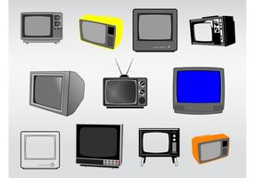 Televisie Illustraties