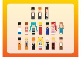 Personajes de 8 bits