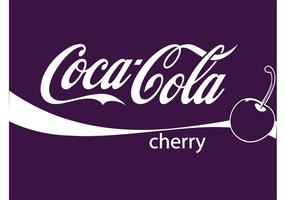 cherry cola vector