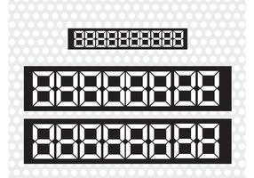Pantalla de números