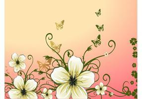 Flores de primavera Ilustración