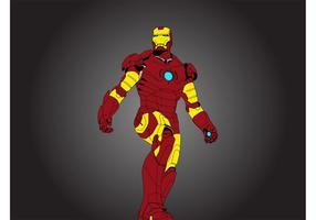 Hombre de hierro Vector