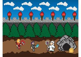 Retro Computer Game