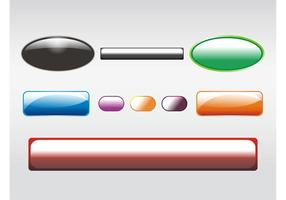 Shiny Buttons Clip Art