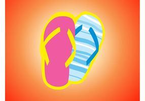 Flip-flops-vector