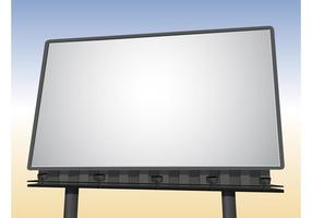 Realistic Billboard Vector