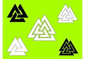 Symbole Valknut