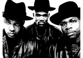 Run DMC Vector Image