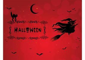 Gruseliger Halloween-Vektor