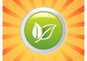 Logo di foglie verdi