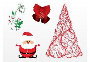Frohe Weihnachten Vektoren