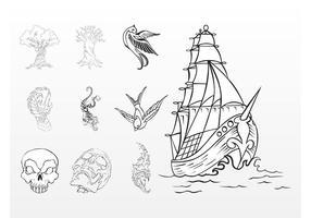Marine Tattoos
