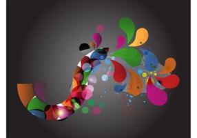 Colorful Swirls Layout