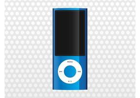 Blauer iPod Nano