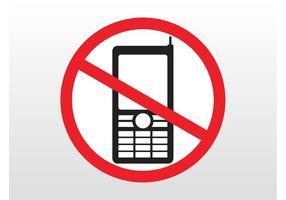 Keine Telefone unterschreiben