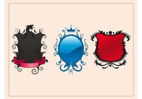 Escudos decorados