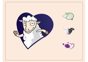 Schaf-Ikonen