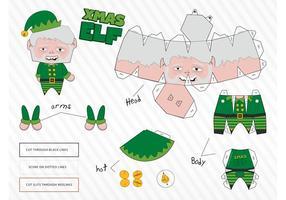 Elf Papercraft