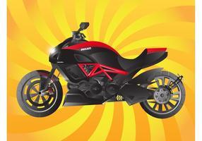 Ducati fahrrad vektor