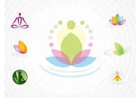 Logos de yoga