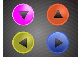 Paquete de botones redondos
