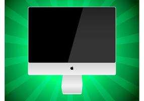 iMac Vector Graphic