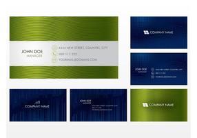 Business Cards Vectors