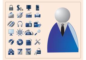 Iconos de negocio