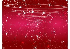 Starry Red Background