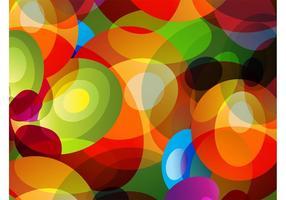 Färgglada cirklar bakgrund