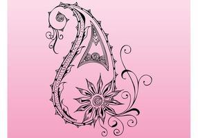 Elemento do vetor floral