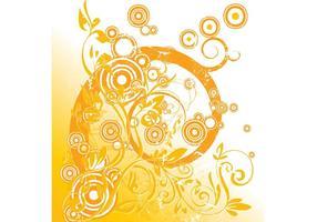 Floral Circle Graphics