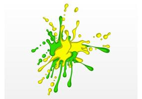 Bright Paint Splash
