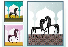 Horse Vector Illustrations