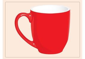 Vetor da caneca de café