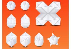Vetor de origami