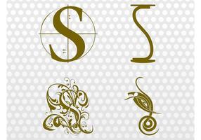 Buchstabe S Designs