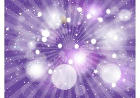 Starry Purple Purple Background