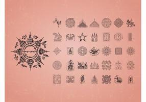 Asian Tattoo Vectors