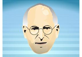 Steve Jobs Face vector