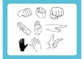 Desenhos de mão