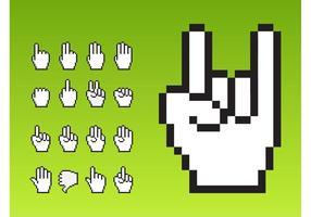 Cursor handen