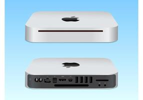 Mac Mini Vektor-Illustration