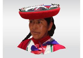 Peruanische Frau