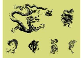 Drachen Tattoos
